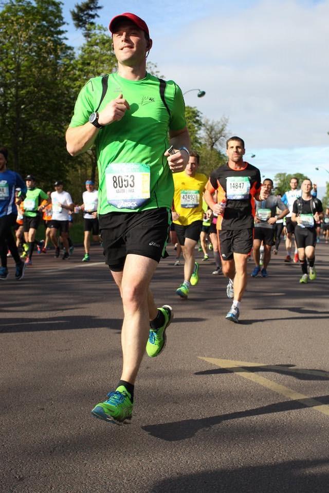 J'ai couru mon premier marathon par Xav. Ryckt