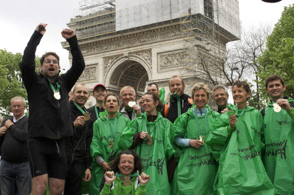 Marathon de Paris : Oui mais ensemble…