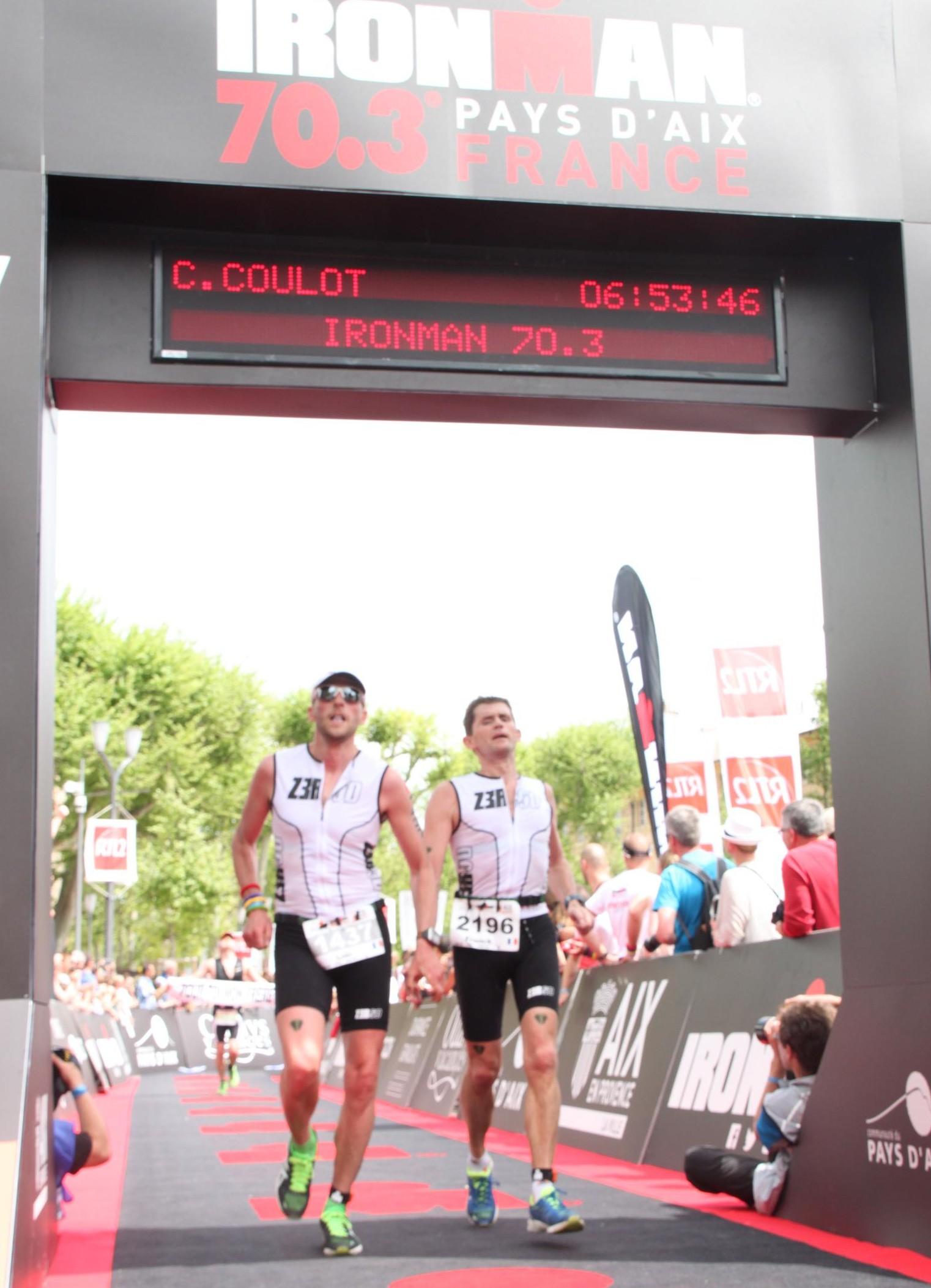 Ironman 70.3 du Pays d'Aix : un saut dans la 3ème dimension