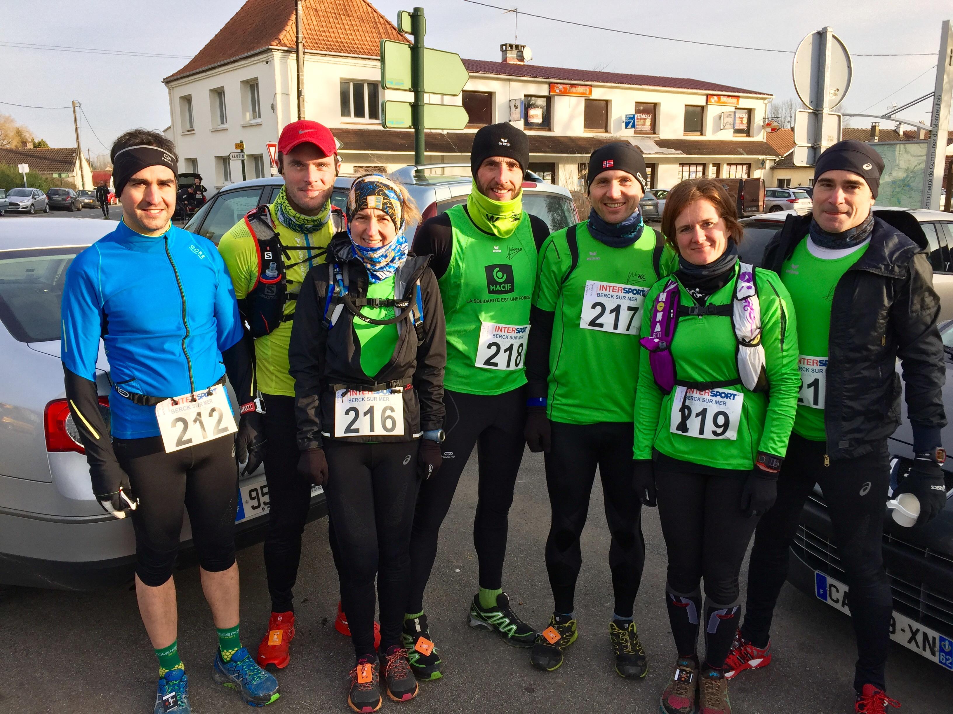 Un trail de plus pour le Wimereux Running Club, celui du Blanc Pignon